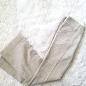Alice+Olivia Cream Career Pants